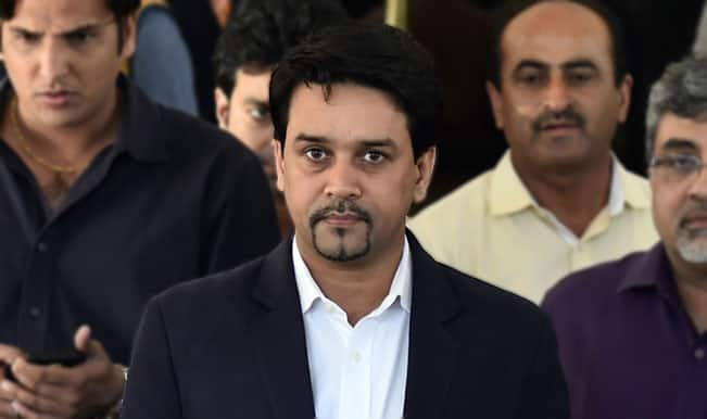 Anurag Thakur's alleged meeting with bookie not on BCCI agenda