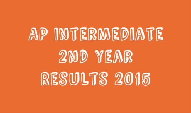 bieap.gov.in Official Andhra BIEAP 12th Inter Senior 2nd year General & Vocational Results 2015 Website: Results to be announced today