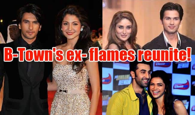 Ranveer Singh-Anushka Sharma, Shahid Kapoor-Kareena Kapoor Khan: B-Town's ex-flames reunite on silver screen