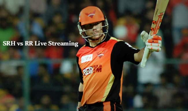 Sunrisers Hyderabad vs Rajasthan Royals, IPL 2015: Watch Free Live Streaming and Telecast of SRH vs RR on Star Sports Online