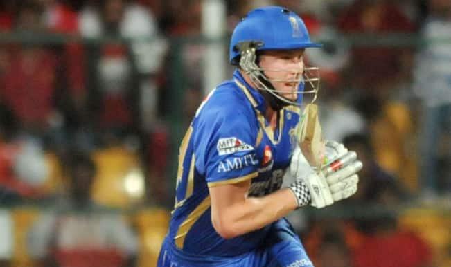 James Faulkner lifts Rajasthan Royals to 162 against Kings XI Punjab