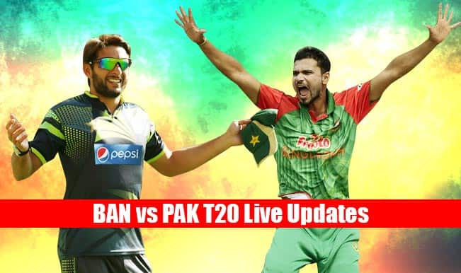 BAN won by 7 wickets | Live Cricket Score Updates Bangladesh vs Pakistan T20 2015: Sabbir Rahman awarded Man of the Match