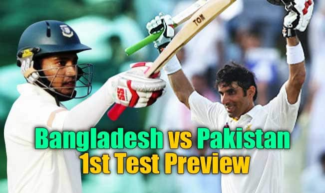 Bangladesh vs Pakistan 1st Test Match Preview: PAK look to bounce back under Misbah-ul-Haq against BAN