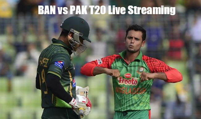 Bangladesh vs Pakistan T20 2015: Watch Free Live Streaming of PAK vs BAN one-off T20 Match on Gazi TV & PTV Sports
