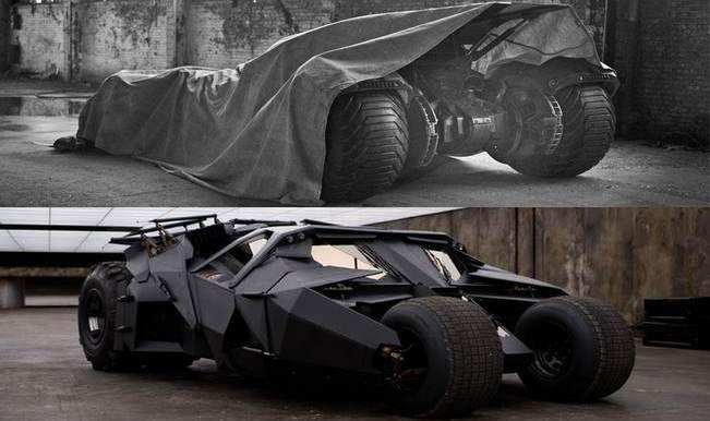 Batman VS Superman – do you like the new Batmobile more than the Tumbler?
