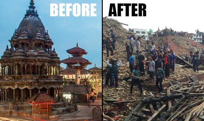 Earthquake in Nepal: Patan Durbar Square shattered completely