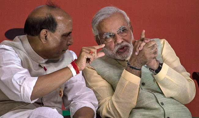 Rajnath Singh: Narendra Modi's campaign for cleanliness is not just against filth but untouchability too'