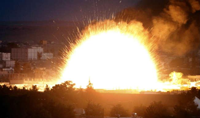 लीबिया में स्पैनिश दूतावास के बाहर बम विस्फोट