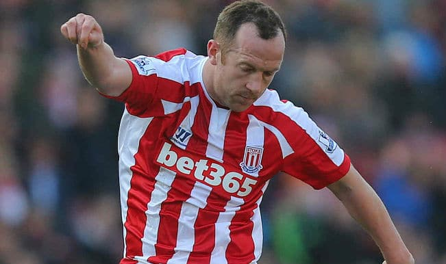 Charlie Adam scores spectacular goal; Chelsea beat Stoke City 2-1 to take 7-point lead in Barclays Premier League