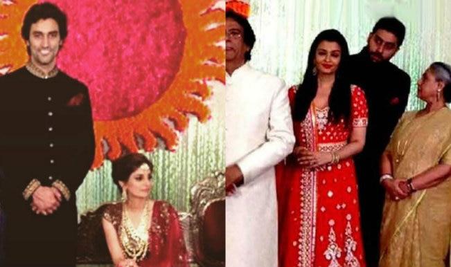 Kunal Kapoor And Naina Bachchan Wedding Reception Aishwarya Rai