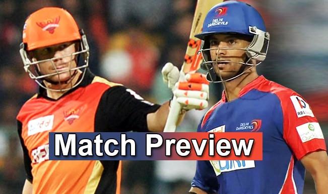 Sunrisers Hyderabad vs Delhi Daredevils IPL 2015 Match 13 Preview: Can DD maintain their rarely found winning way?