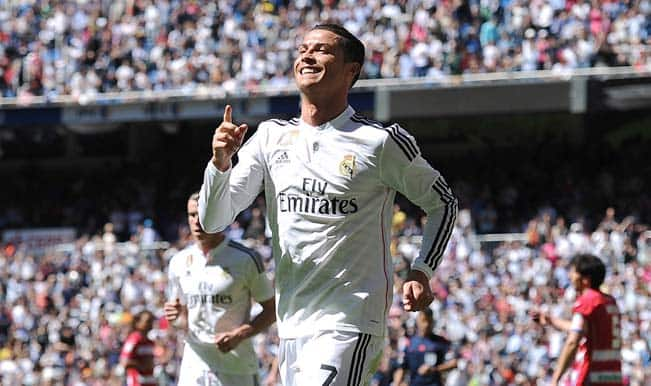 La Liga 2014-15: Five-star Cristiano Ronaldo helps Real Madrid maul Granada 9-1