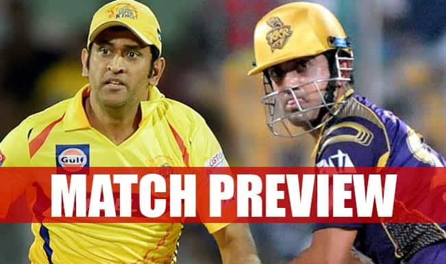 Chennai Super Kings vs Kolkata Knight Riders IPL 2015 Match 28 Preview: CSK, KKR engage in the Clash of Titans