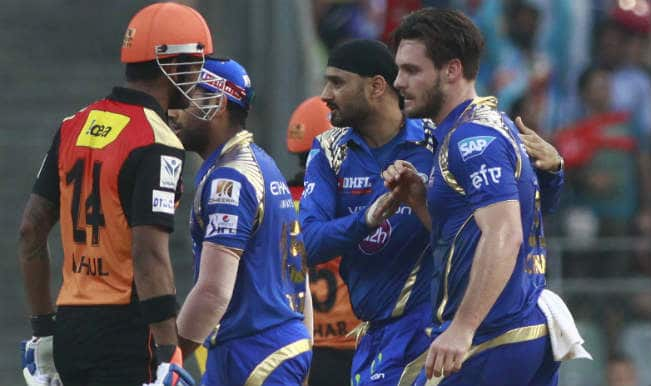 Mumbai Indians register their second win, beat Sunrisers Hyderabad by 20 runs