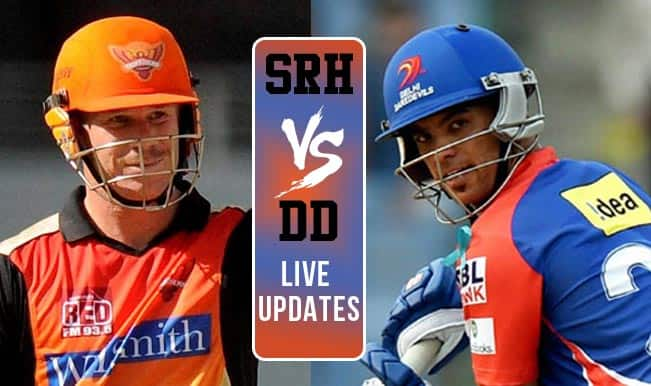 DD win by 4 runs | Live Cricket Score Updates Sunrisers Hyderabad vs Delhi Daredevils, IPL 2015: JP Duminy adjudged Man of the Match
