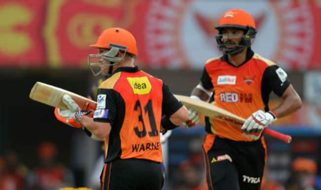 Kings XI Punjab vs Sunrisers Hyderabad, IPL 2015 Toss Report and Playing XI: KXIP win toss, elect to bowl against SRH