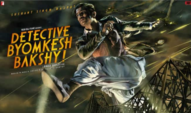 Detective Byomkesh Bakshy! quick review: Sushant Singh Rajput is brilliant in this bloody thriller
