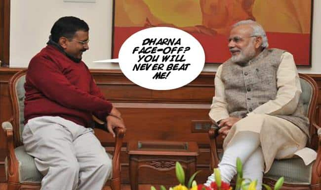 Why is the BJP protesting outside Arvind Kejriwal's house? The reason will shock you!