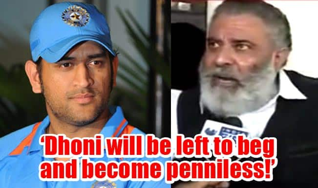 'I would have slapped Dhoni', says Yograj Singh who curses MS Dhoni to beg and go penniless! Watch video