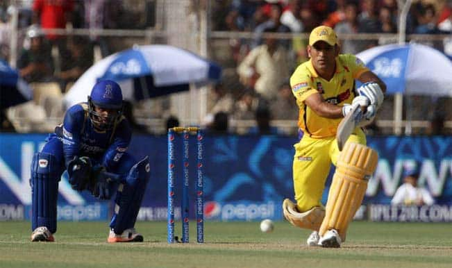 CSK set target of 157 runs for RR in 15th match of IPL 2015, Rajasthan Royals vs Chennai Super Kings