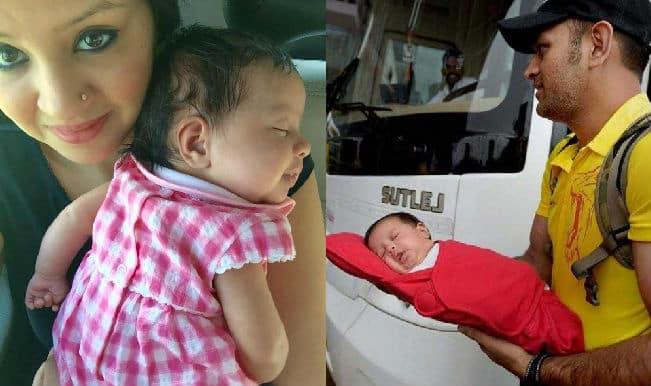 Dhonis with Ziva