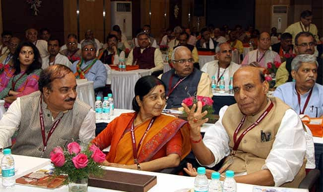 BJP National Executive Meet: Land Acquisition Bill to be ...