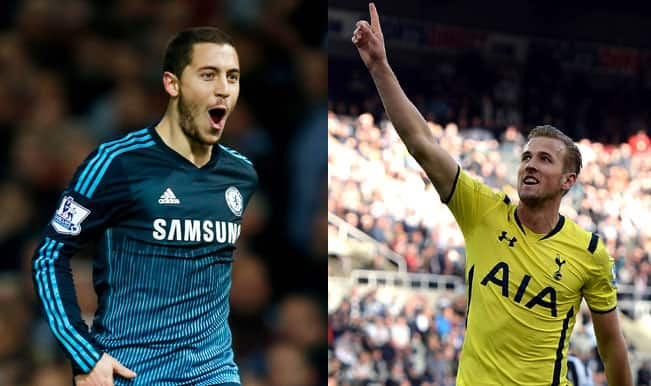 Chelsea's Eden Hazard lands PFA Player of the Year award; Spurs' Harry Kane Young POTY