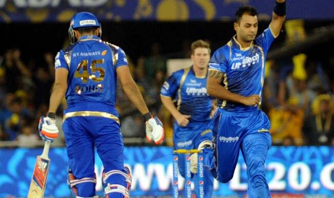Rajasthan Royals vs Mumbai Indians Cricket Highlights: Watch RR vs MI IPL 2015 Full Video Highlights