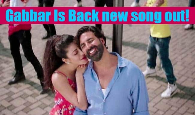 Gabbar Is Back song Coffee Peetey Peetey: Shruti Haasan overshadows Akshay Kumar in this romantic number