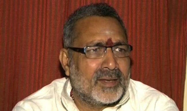 Attempts Being Made to Defame Hindus Through Kathua Rape Case, Says Union Minister Giriraj Singh