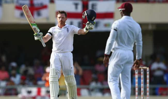 Ian Bell's 22nd hundred puts England in command against West Indies on Day 1; reach 341/5 at Stumps