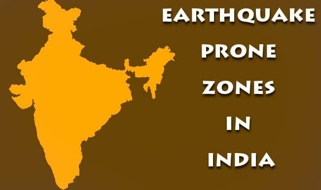 Earthquake prone zones in india details of four seismic zones by earthquake prone zones in india details of four seismic zones by government of india ministry gumiabroncs Images