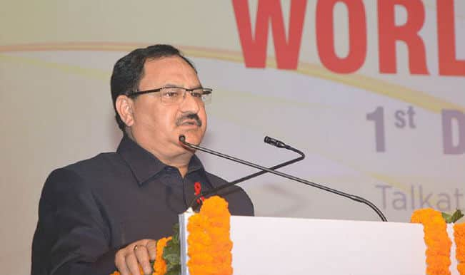 Health Minister J P Nadda says, 'Government to come out with health policy on accessible healthcare'
