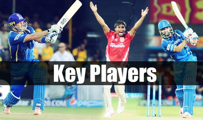 Rajasthan Royals vs Kings XI Punjab, IPL 2015, 18th Match: Orange cap holder Ajinkya Rahane among 5 key players for RR vs KXIP clash