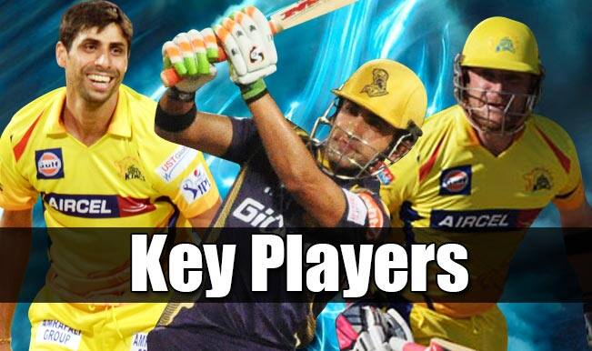 Chennai Super Kings vs Kolkata Knight Riders, IPL 2015, 28th Match: Gautam Gambhir, Ashish Nehra among 5 key players for CSK vs KKR clash