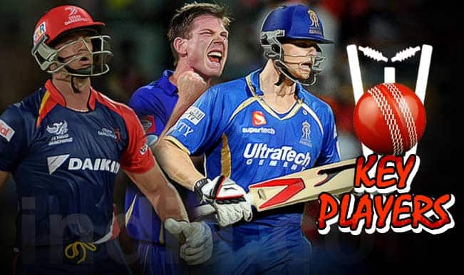Delhi Daredevils vs Rajasthan Royals, IPL 2015, 6th Match: Albie Morkel, James Faulkner among 5 key players for DD vs RR clash
