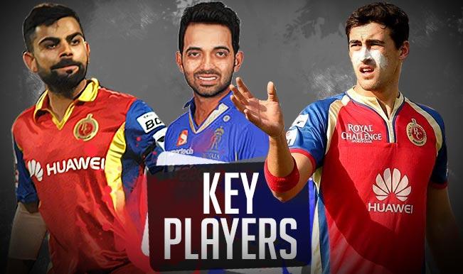 Royal Challengers Banglore vs Rajasthan Royals, IPL 2015, 29th Match: Virat Kohli, Ajinkya Rahane among 5 key players for RCB vs RR clash