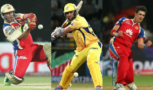 Royal Challengers Bangalore vs Chennai Super Kings, IPL 2015, 20th Match: AB de Villiers, Brendon McCullum among 5 key players for RCB vs CSK clash