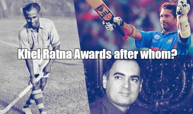 Why Rajiv Gandhi Khel Ratna award should be renamed after Sachin Tendulkar or Dhyan Chand