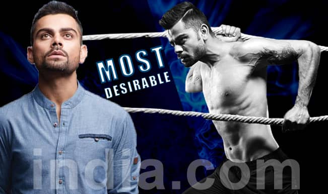 Virat Kohli, not MS Dhoni leads Indian Cricket Team in Times Most Desirable Men poll!