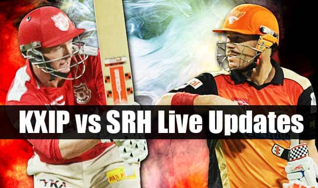 SRH win by 20 runs, Trent Boult is Man of the Match | Live Cricket Score Updates Kings XI Punjab vs Sunrisers Hyderabad, IPL 2015