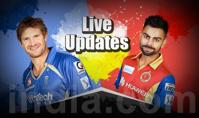 RCB win by 9 wickets, Mitchell Starc is the Mn of the Match | Live Cricket Score Updates Rajasthan Royals vs Royal Challengers Bangalore, IPL 2015