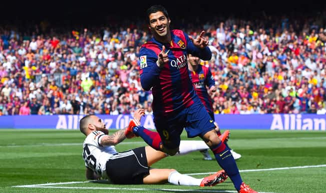 La Liga 2014-15: Ivan Rakitic praises Luis Suarez's early goal in Barcelona's 2-0 win over Valencia