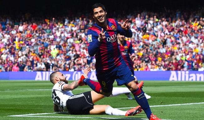 La Liga 2014-15: Ivan Rakitic praises Luis Suarez's early goal in Barcelona's 2-0 win over Valencia