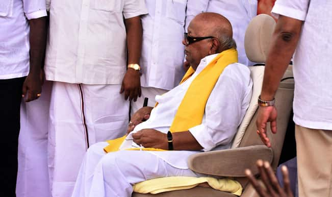 DMK hits back at PMK for remarks on M Karunanidhi's prohibition plan