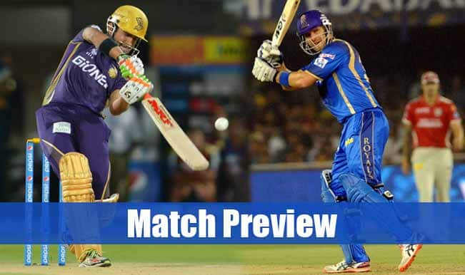 Kolkata Knight Riders vs Rajasthan Royals IPL 2015 Match 25 Preview: KKR, RR lock horns in an exciting clash