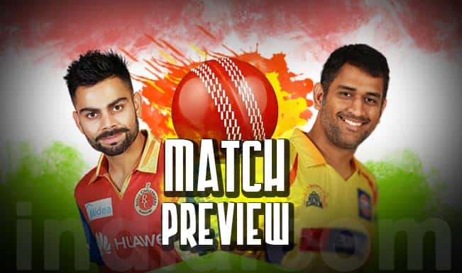 Royal Challengers Bangalore vs Chennai Super Kings IPL 2015 Match 20 Preview: RCB, CSK keen to get back to winning ways