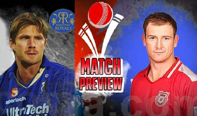 Rajasthan Royals vs Kings XI Punjab IPL 2015 Match 18 Preview: RR eye sixth straight victory with win over KXIP