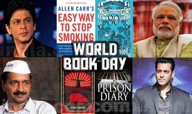 World Book Day 2015: 10 book recommendations for our favourite celebrities