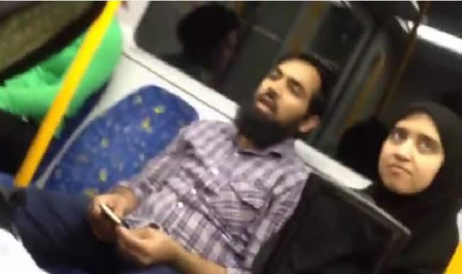 Muslim couple abused on Sydney train: Watch video how Australian Woman takes a stand